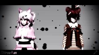 (MMD x FNAF2) Don't Talk Meme 1 [Mangle / Toy Freddy]