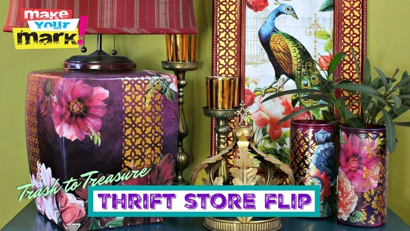 Trash to Treasure Thrift Store Flip