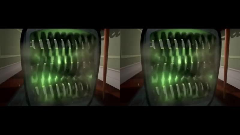 3D Kот и птеньчик VR мульт