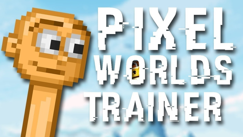 Pixel Worlds HACK WITH LINK FIXED 2019