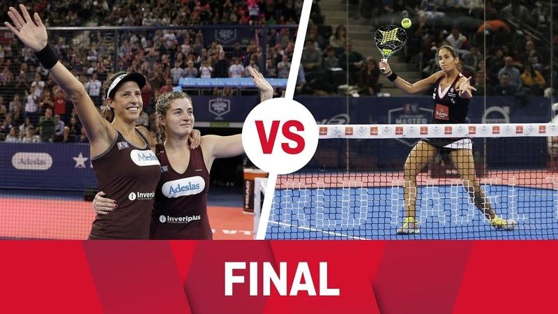 Resumen Final Femenina Marrero Salazar Vs Mapi Majo Estrella Damm Master Final 2018