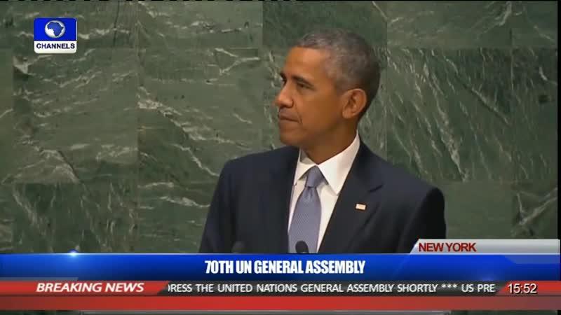 President Obama at UNGA 2015