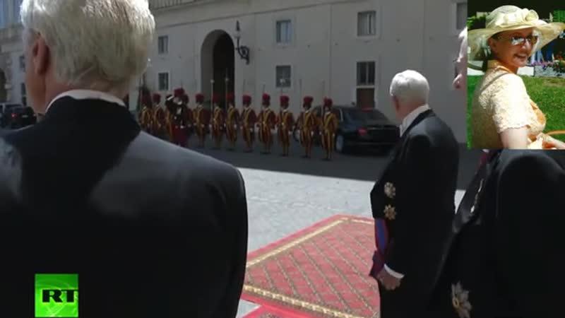Тайна встречи Путина с папой римским раскрыта № 1434