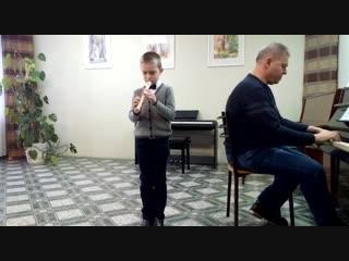 Храпач Егор с произведением Д. Шостаковича Хороший день