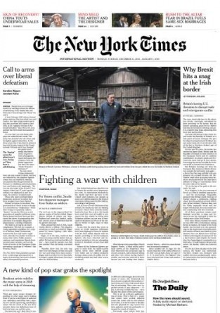 International New York Times - 31 December 2018