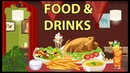 Food and drinks vocabulary