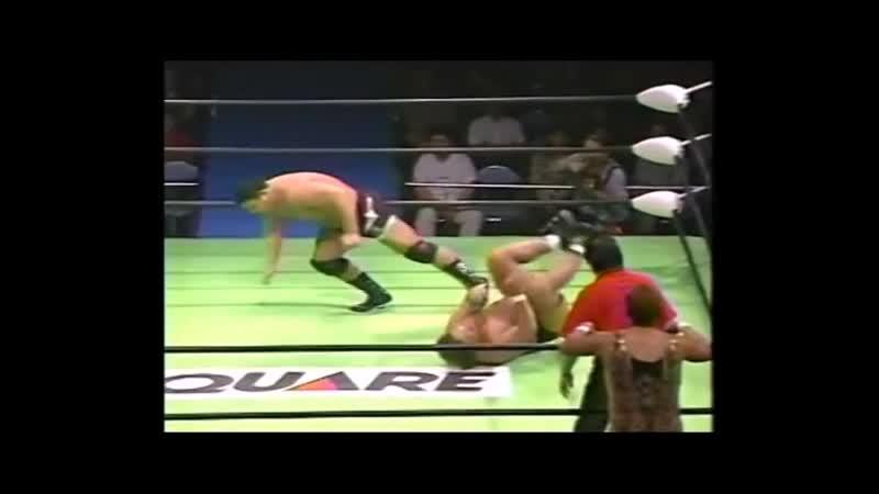 2000.09.16 - Haruka EigenJun IzumidaMakoto Hashi vs. Rusher KimuraMitsuo MomotaTakeshi Rikio