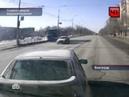 Волгоградский маршрутчик таранит машины