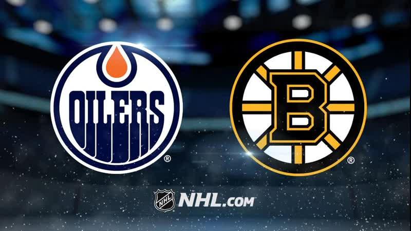 NHL | Edmonton Oilers vs Boston Bruins НХЛ | Эдмонтон Ойлерз и Бостон Брюинз