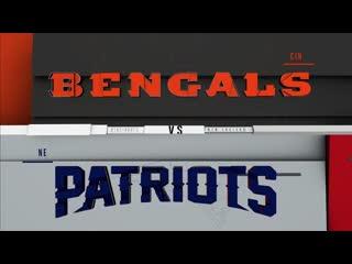 Bengals vs. patriots   nfl week 6 game highlights