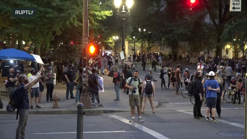 LIVE Protests continue in Portland amid announcement of feds' withdrawal