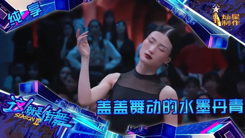【纯享】盖盖献上舞动的水墨丹青 王嘉尔发出遛弯邀请【这!就是街舞1230