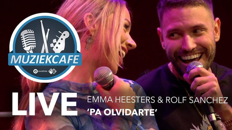 Emma Heesters Rolf Sanchez - 'Pa Olvidarte' live bij Muziekcafé