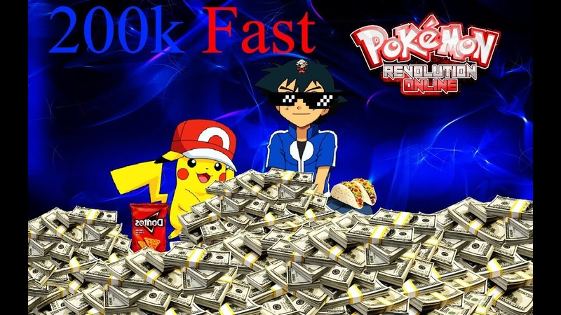 How to have money Fast in Pokemon Revolution Online PRO