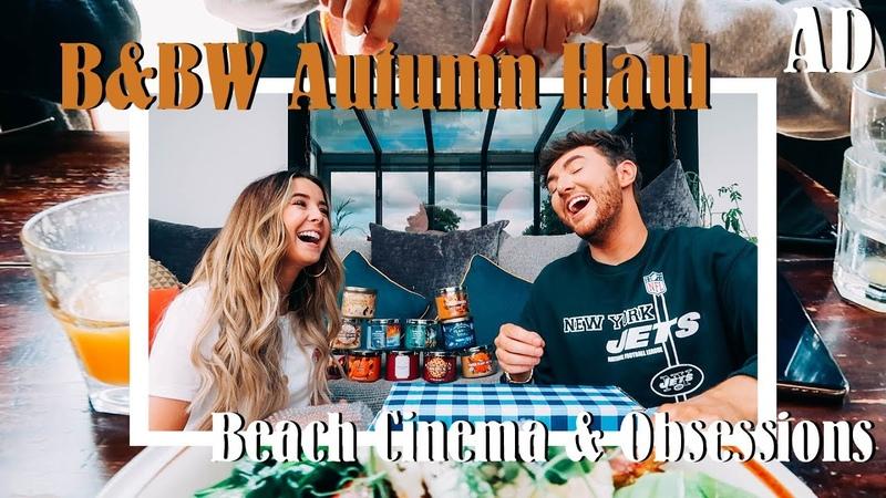 BBW Autumn Candles, Beach Cinema Newest Obsessions | AD