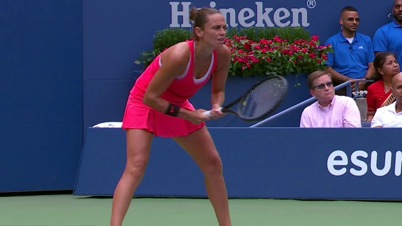 US Open Spotlight Roberta Vinci defeats Serena (2015)