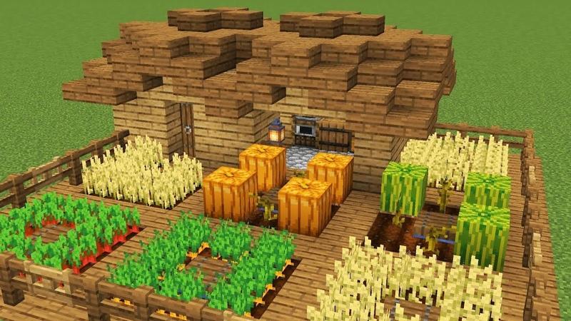 как в майнкрафте сделать ферму #1
