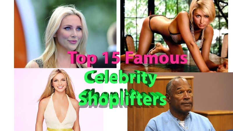 Top 15 Famous Celebrity Shoplifters