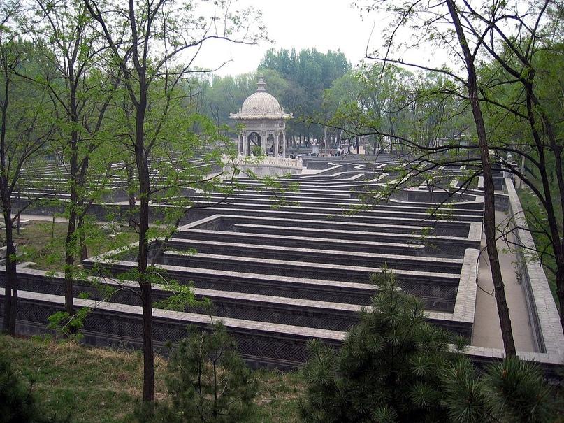 Лабиринт в Императорских садах. Пекин.
