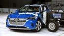 2019 Audi e tron side IIHS crash test