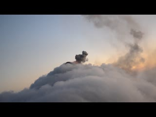 Volcan de fuego, guatemala