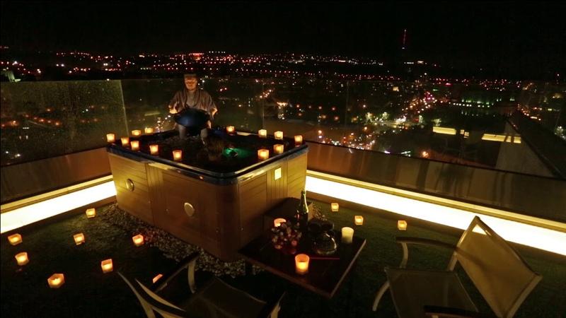 If the magic happens it happens at Thai Penthouse