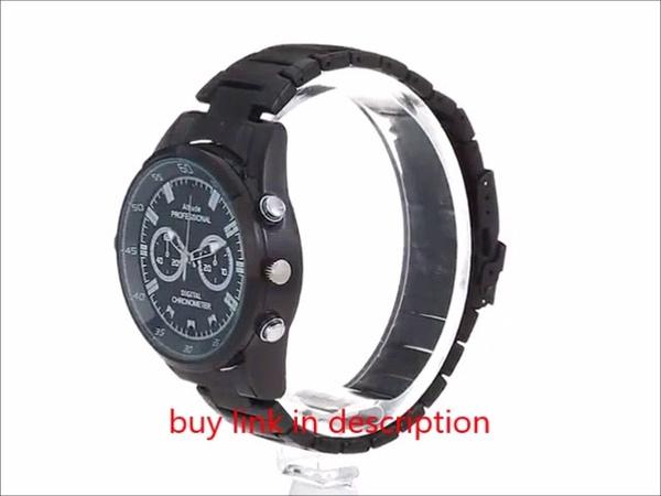 Camera watch Camera Loop Video Recorder HD 1080P IR Night Vision CamerasBlack