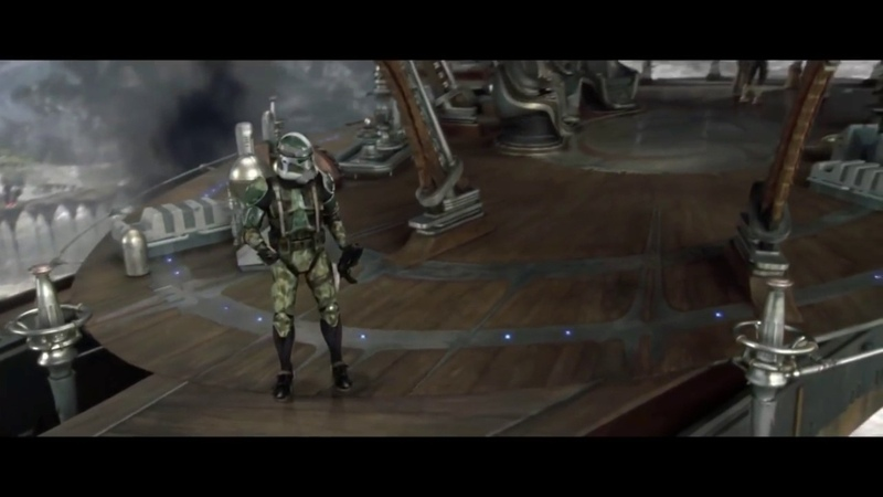 Star Wars Commander Gree's death HD Jesse