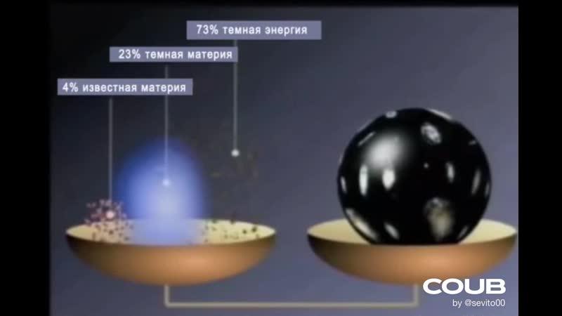 Масса вселенной (лекция: Конец пространства и времени)