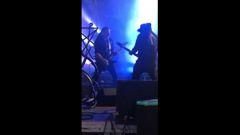 Behemoth feat. Havoc rehearsal | B90, Gdańsk, 5.10.2019