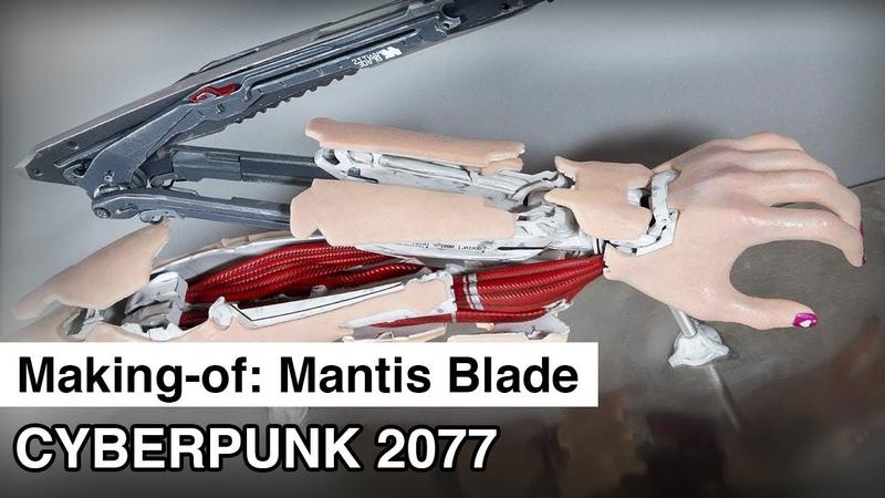 Mantis Blade Making-of | Cyberpunk 2077 Cosplay Prop