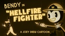 Bendy Cartoon Hellfire Fighter