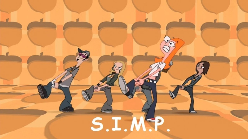 Phineas and Ferb Musical Cliptastical Countdown S I M P Squirrels In My Pants Extended Lyrics