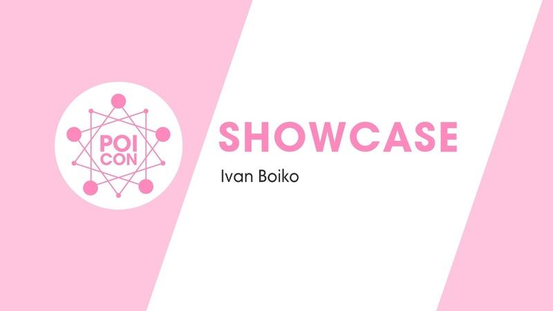 POI SPINNER IVAN BOIKO SHOWCASE POICON 2020
