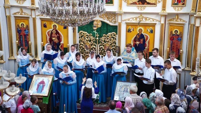 Концерт в честь 15-летия молодежного хора при Свято-Покровском храме Днепра(28.08.2016 года)