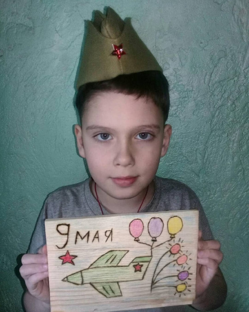 К 75-летию Великой Победы дом культуры села Оркино Петровского района проводит виртуальную выставку рисунков и поделок