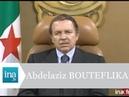 Abdelaziz Bouteflika j'ai besoin du soutien populaire pour avancer - Archive INA