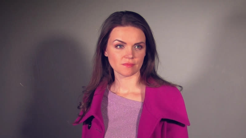 Актриса Анна Славина. Кинотренинг Олега Ларина. Блоггер.
