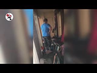 Мать 5 детей ударило током при потопе.