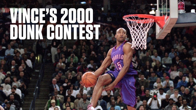 Vince Carter puts on a show in legendary 2000 Slam Dunk Contest   NBA Highlights