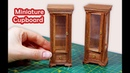Miniatur Cupboard / Cabinet Tutorial - Dollhouse Furniture Minyatür Mobilya