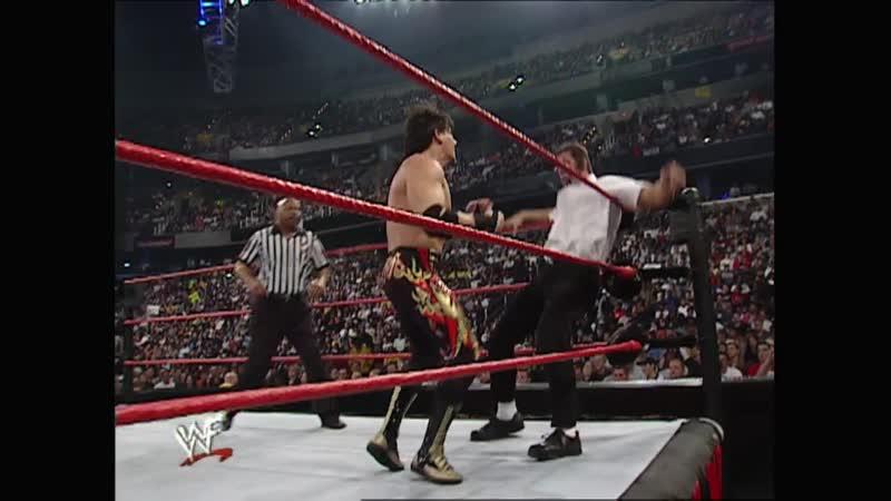 WWF Raw Is War 02 10 2000 Eddie Guerrero Chyna vs Right To Censor