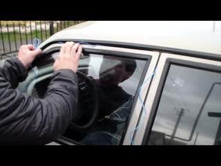 Что делать, если закрыл машину с ключами внутри