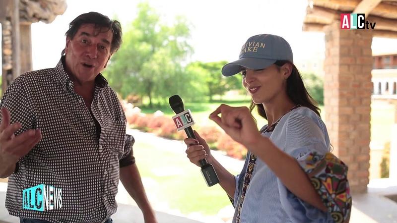 ALC News Un d a con Johnny Schuler en la Hacienda La Caravedo amando al Pisco Peruano