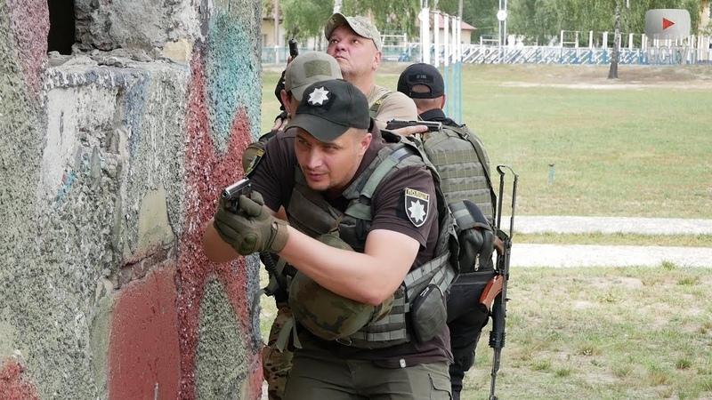 На Київщини відбулися навчання спецпризначенців