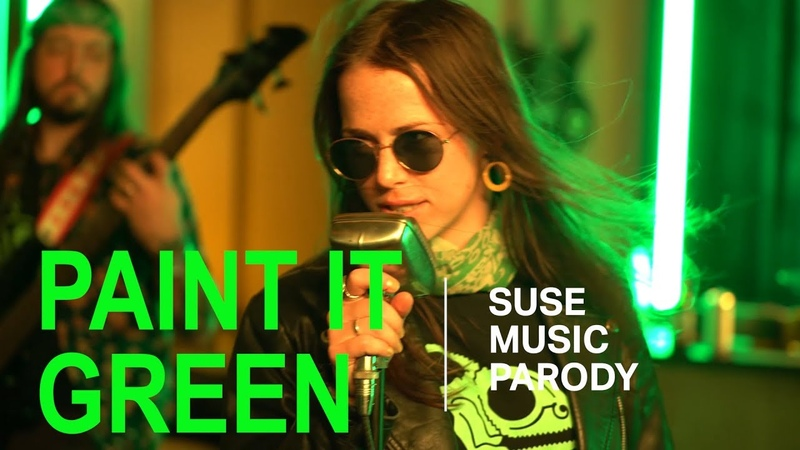 Paint it Green - A SUSE Music Parody