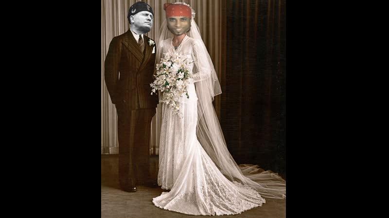 Рикардо Милос жениться на Бенитто Муссолини Свадьба