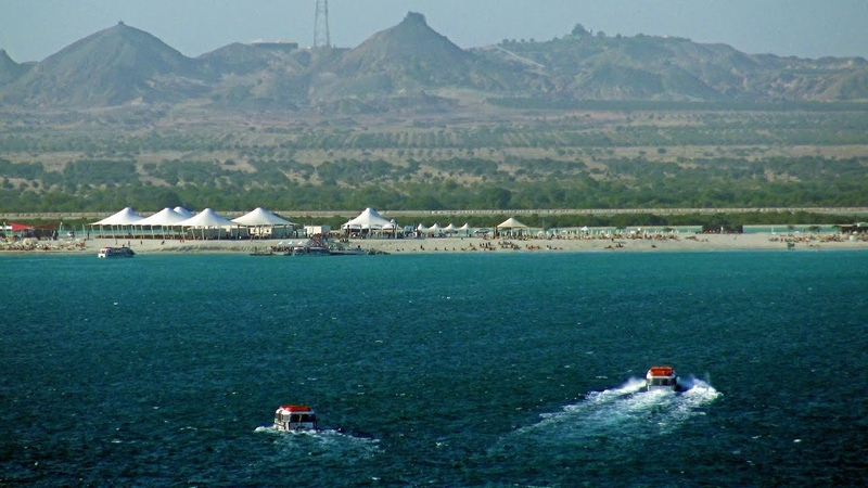 Sir Bani Yas MSC Cruise Beach and Jeep Safari 4K
