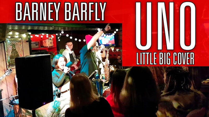 BARNEY BARFLY - UNO (Little Big cover)