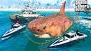 Как поймать акулу Мегалодон в Гта 5 моды? Обзор мода в Gta 5 mods видео игры